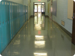 Typical hallway